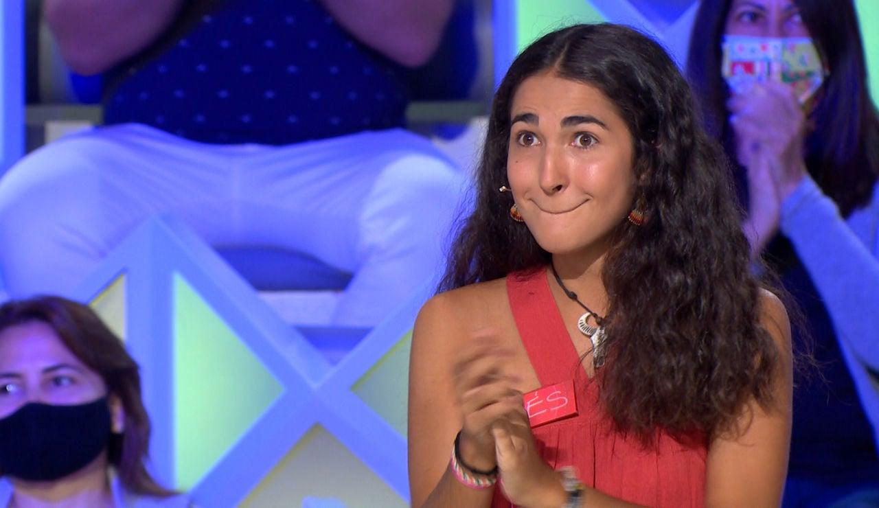 """La ovación de Jorge Fernández ante el impresionante juego de Inés: """"Lo has hecho de libro, de 10, perfecto"""""""