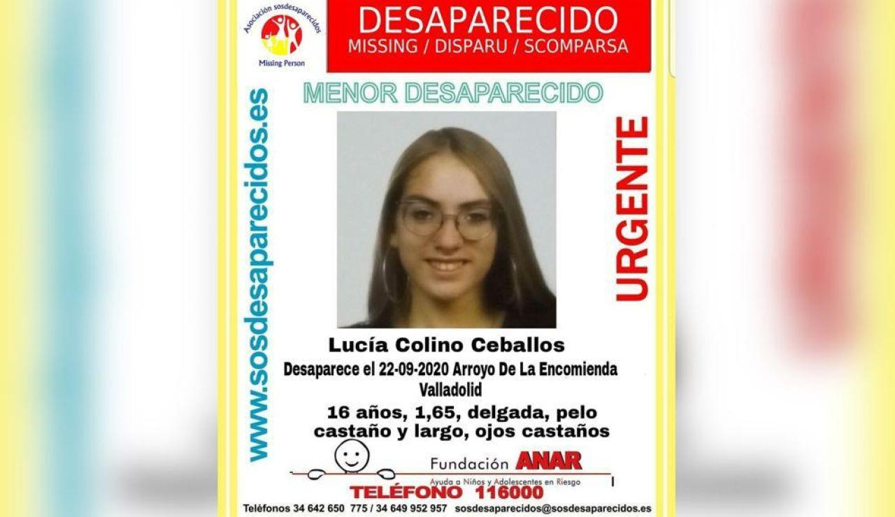 Joven desaparecida en Valladolid