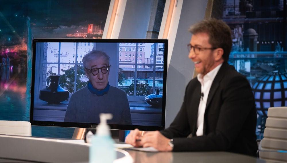¿Se puede elegir el amor? La reflexión sobre las relaciones de pareja de Woody Allen en 'El Hormiguero 3.0'