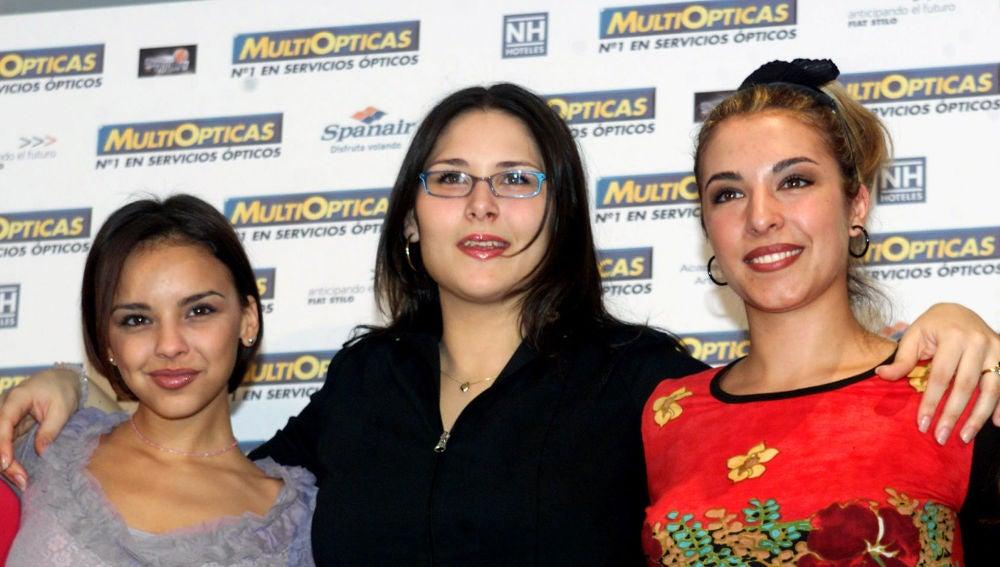 Rosa López, Gisela y Chenoa