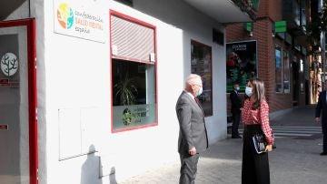La reina Letizia visita la Confederación de Salud Mental de España