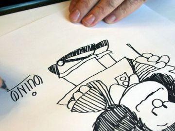 Muere Quino, el 'padre' artístico de Mafalda