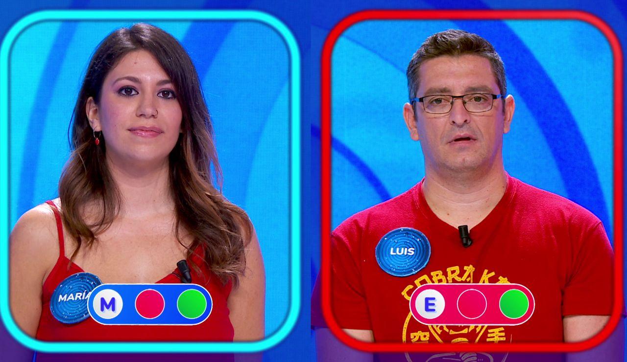 """""""Viene sudando"""": María se lo pone difícil a Luis en la 'Silla Azul'"""