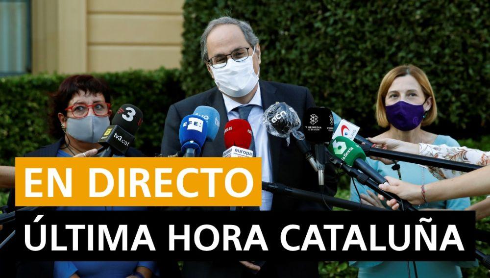 Cataluña última hora: Inhabilitación de Quim Torra, datos de coronavirus hoy y última hora, en directo