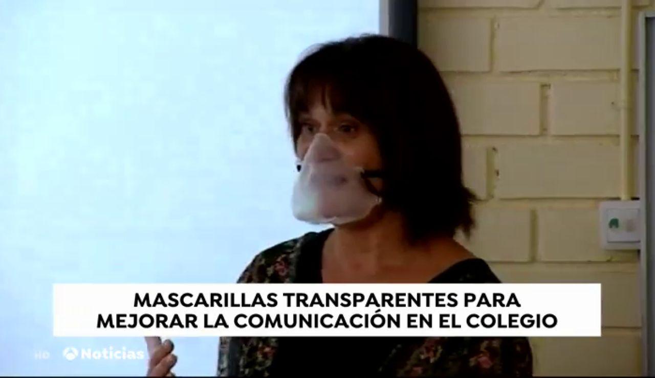 El Vendrell repartirá mascarillas transparentes a los profesores para que puedan comunicarse mejor con sus alumnos