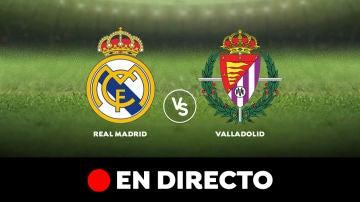 Real Madrid - Valladolid, partido de la Liga Santander