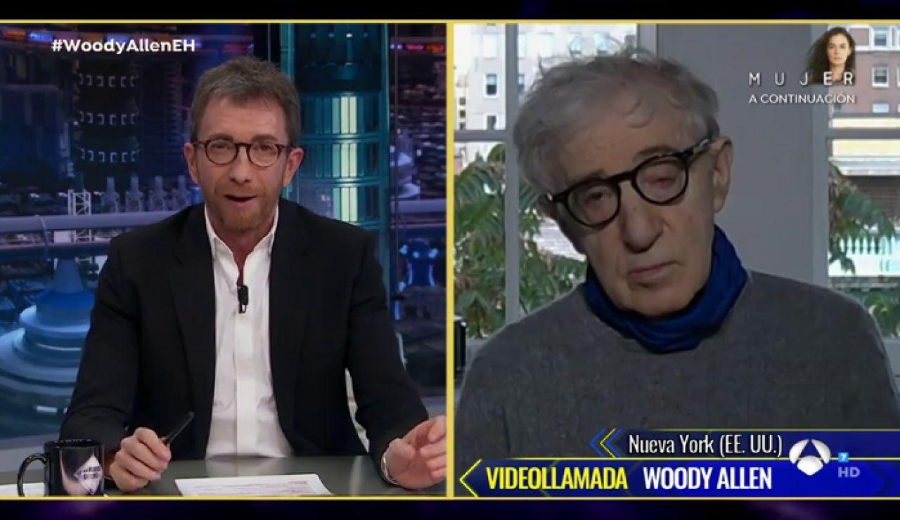 Revive la entrevista completa de Woody Allen en 'El Hormiguero 3.0'