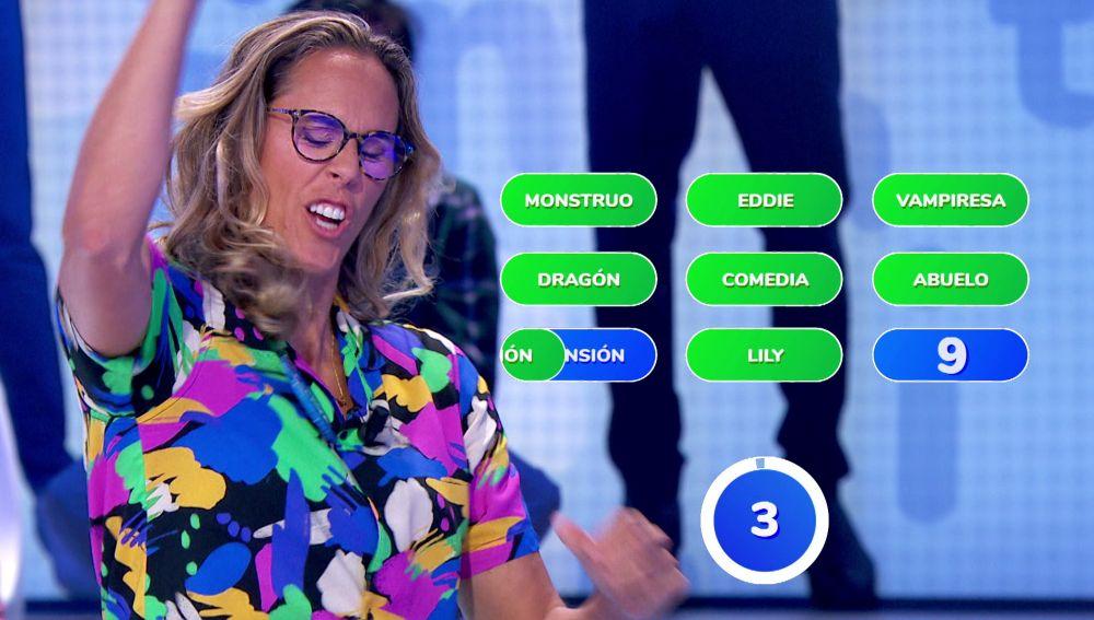 ¡Felicidad absoluta! Luis no puede contener la emoción con la impecable jugada de Amaya Valdemoro en '¿Dónde están?