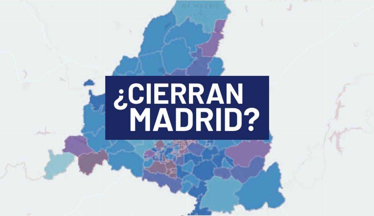 ¿Van a cerrar Madrid? Las condiciones que tendrá en cuenta Sanidad para confinar ciudades y municipios