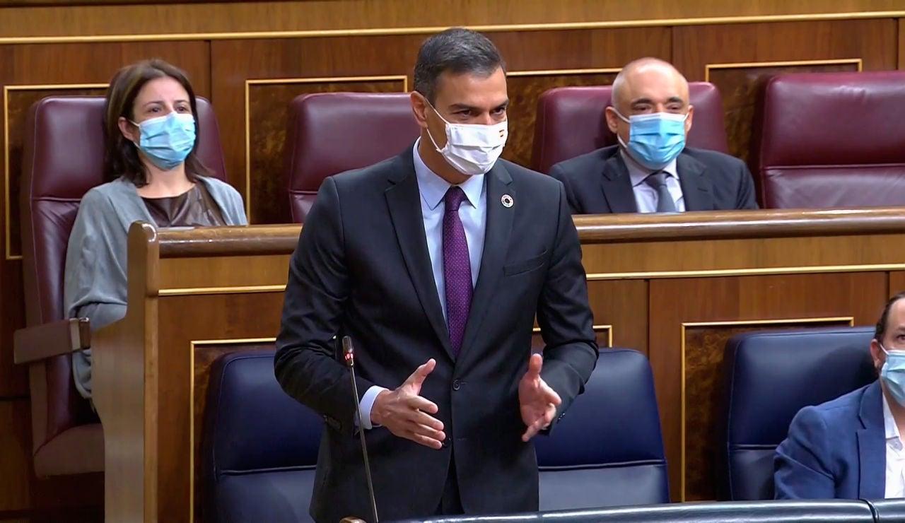 Pedro Sánchez en la Sesión de control al Gobierno del miércoles 30 de septiembre de 2020