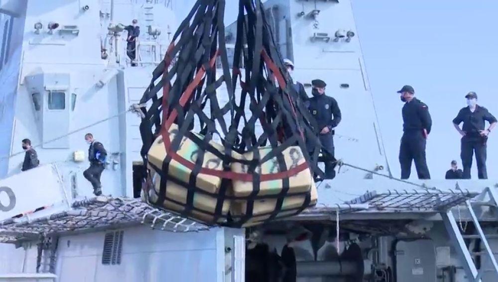 11 detenidos y 35 toneladas de droga intervenidas en la mayor operación contra el tráfico de hachís por vía marítima