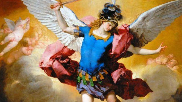 La caida de los ángeles rebeldes - Luca Giordano
