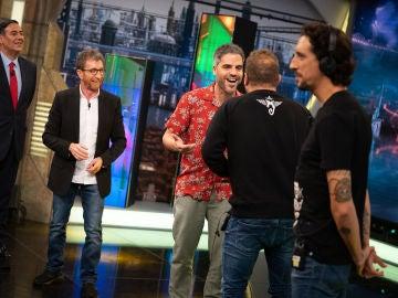 Karlos Arguiñano y José Mourinho destapan el talento desconocido de Ernesto Sevilla como imitador en el 'Teléfono escacharrado'