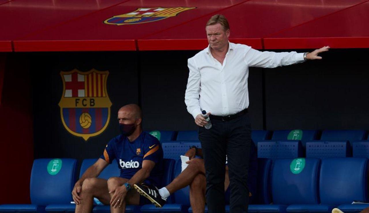 "Koeman: ""No sé si después de las declaraciones de Leo Messi tendré una vida tranquila"""