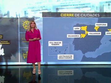 Las otras 9 grandes ciudades fuera de Madrid amenazadas por las nuevas restricciones para atajar el coronavirus.