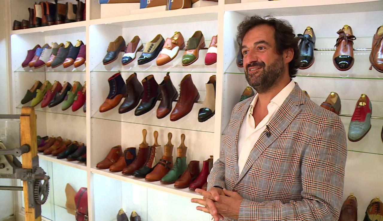 """La pasión oculta de Manolo, de 'Los dispersos', por los zapatos de piel: """"Habrá que lucirse"""""""