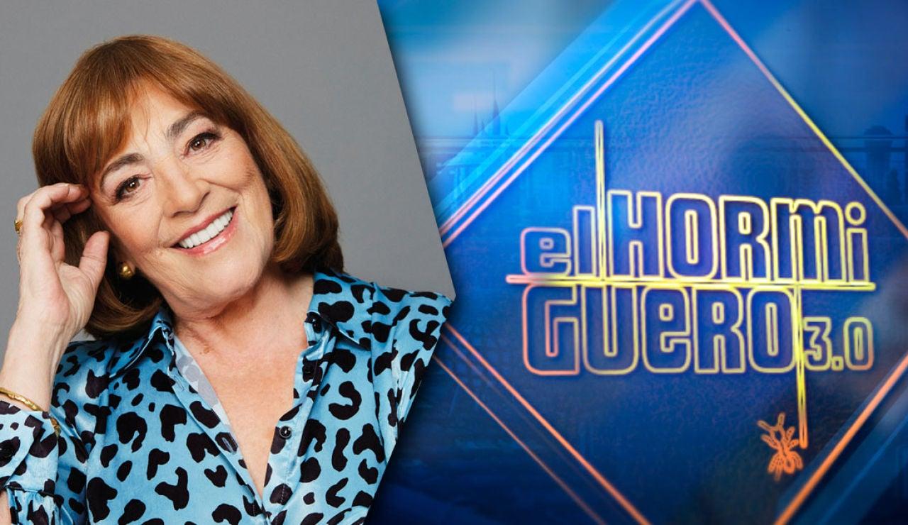El martes recibimos en 'El Hormiguero 3.0' a Carmen Maura