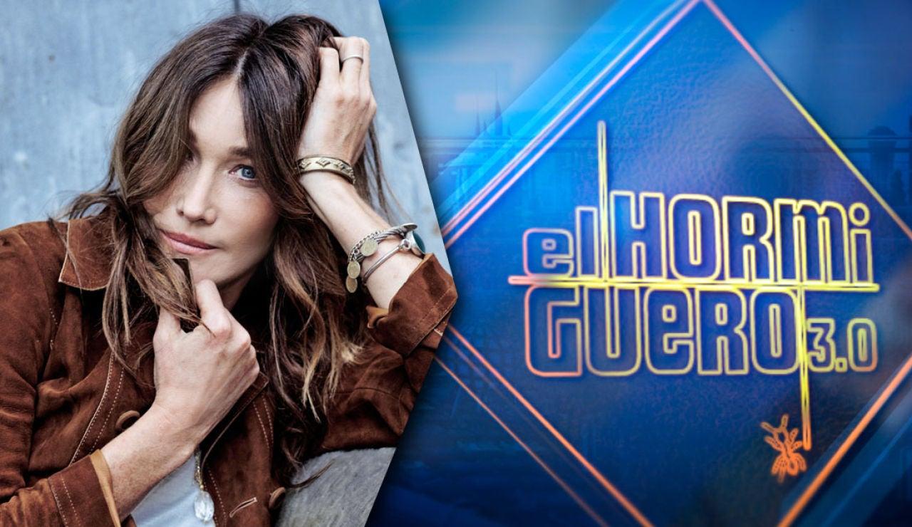El lunes arrancamos la semana en 'El Hormiguero 3.0' con Carla Bruni