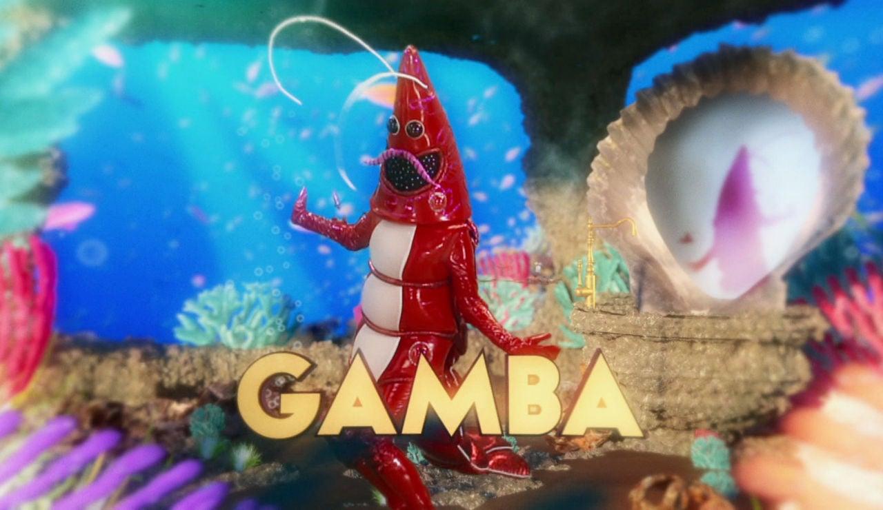 ¿Qué famoso se esconde detrás de la máscara de la Gamba?