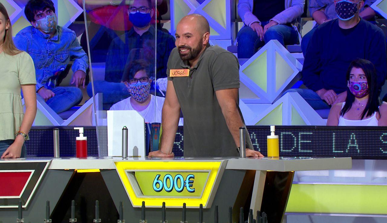"""La advertencia de Jorge Fernández a un concursante de 'La ruleta de la suerte': """"Es un regalo caído del cielo"""""""