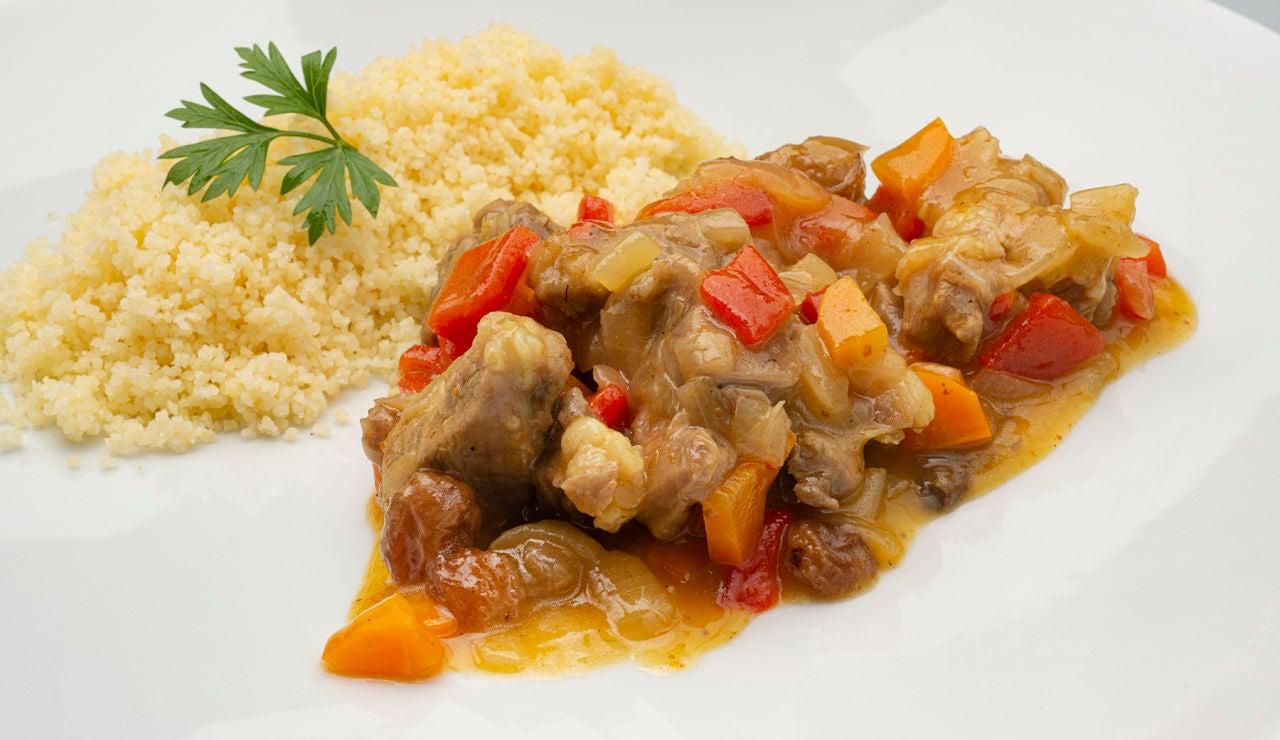 Receta de cordero al curry con cuscús, de Karlos Arguiñano
