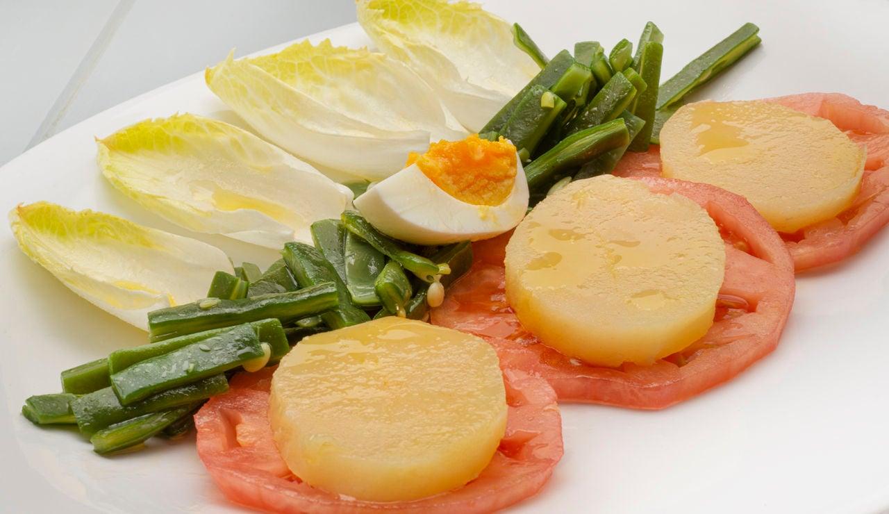 La ensalada de Karlos Arguiñano que se cocina sola