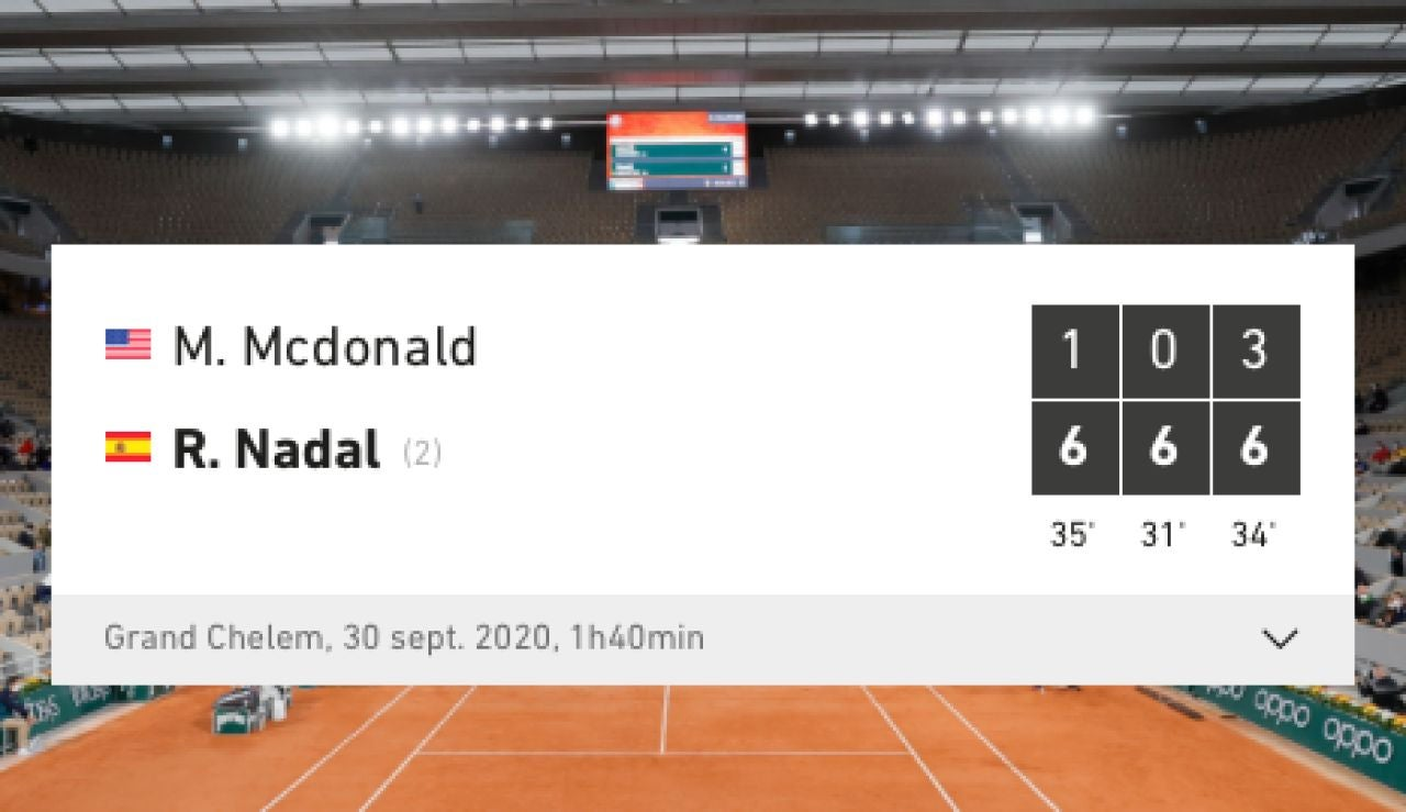El troleo de Burger King a McDonald's tras la victoria de Rafa Nadal en Roland Garros