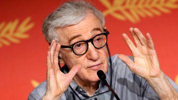 Woody Allen, durante una rueda de prensa en el Festival de Cannes