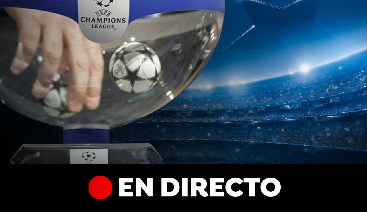 Sorteo Champions League: Cruces y emparejamientos en la fase de grupos, en directo