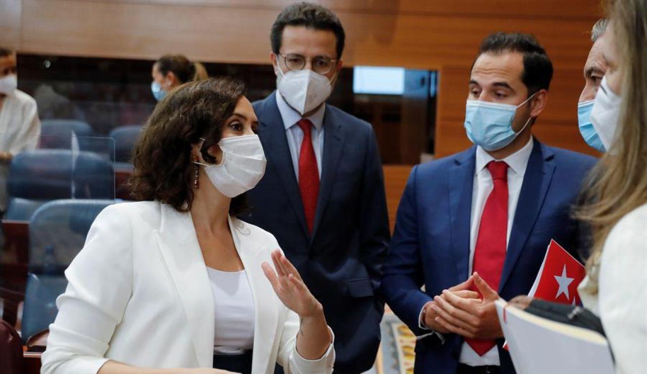 Isabel Díaz Ayuso prevé publicar hoy en el BOCM la resolución de Sanidad que cierra Madrid y otros 9 municipios esta noche
