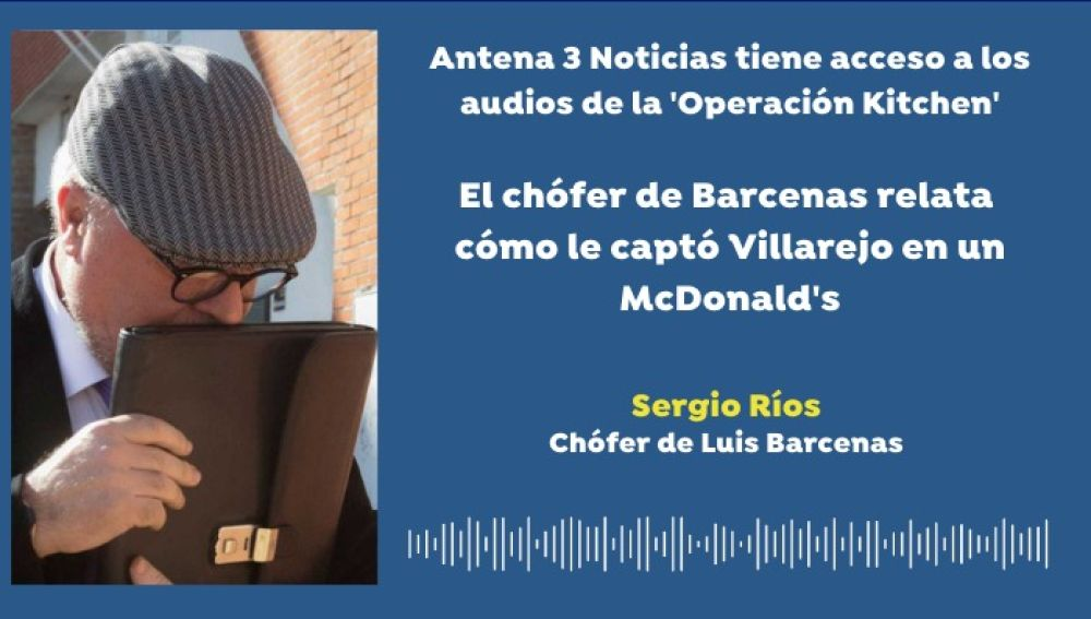 Antena 3 Noticias accede a los audios del 'caso kitchen'