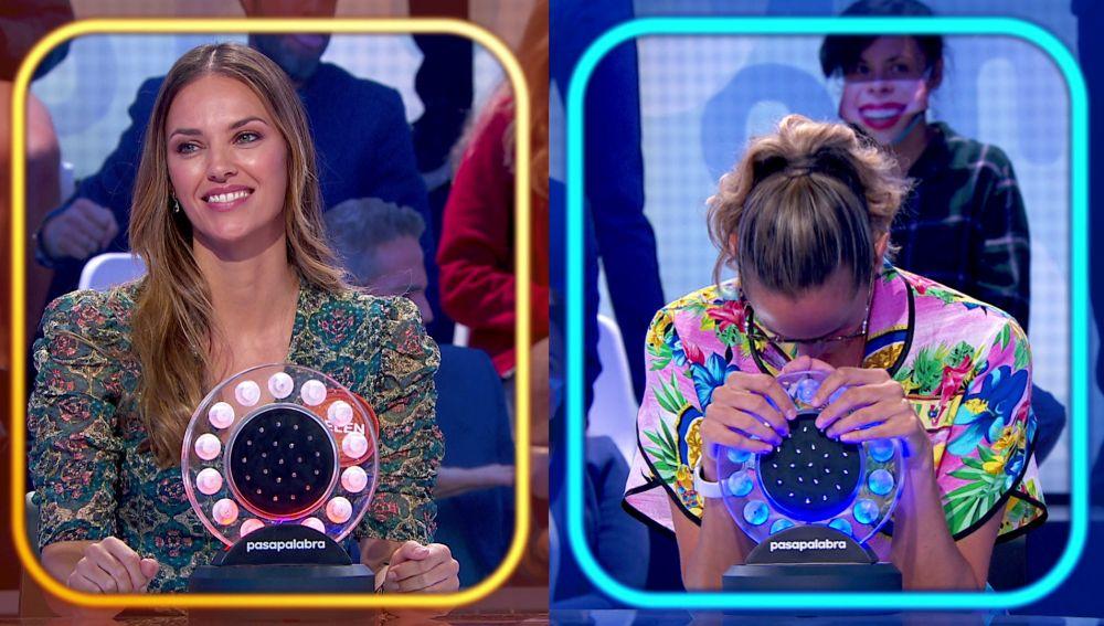 Helen Lindes admite que 'Me pongo colorada' al vencer a Amaya Valdemoro en 'La Pista'
