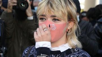 Maisie Williams en el desfile de Chloé en la Semana de la Moda de París