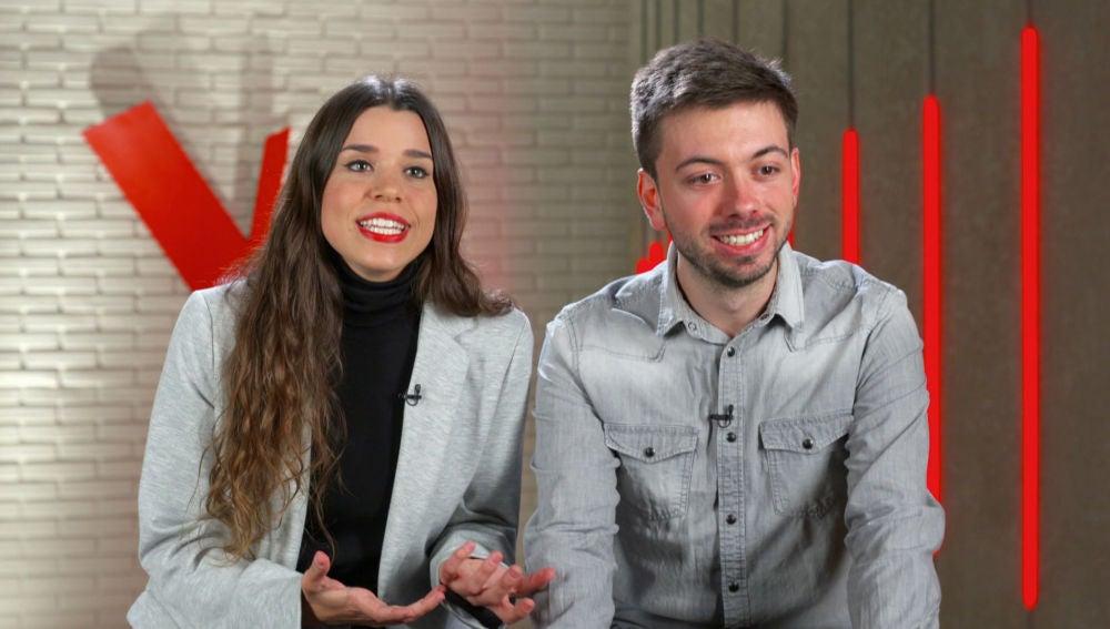 """22 Dúo: """"Oriol es el guitarrista y Marina es la crack de las cuerdas"""""""