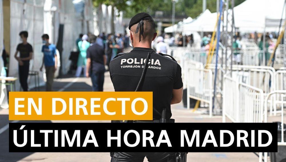 Confinamiento Madrid: Última hora de la entrada en vigor de las nuevas restricciones y datos hoy, en directo