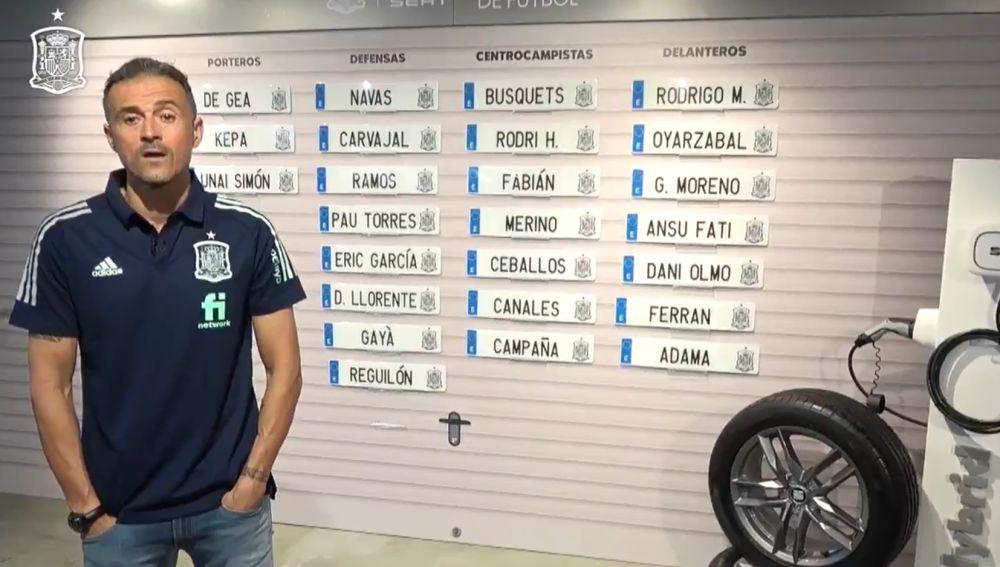 Convocatoria de España en la Nations League: La lista de Luis Enrique para Portugal, Suiza y Ucrania