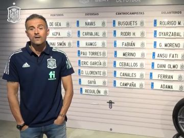 Convocatoria de España en la Nations League: La lista de Luis Enrique para Portugal, Suiza y Ucrania