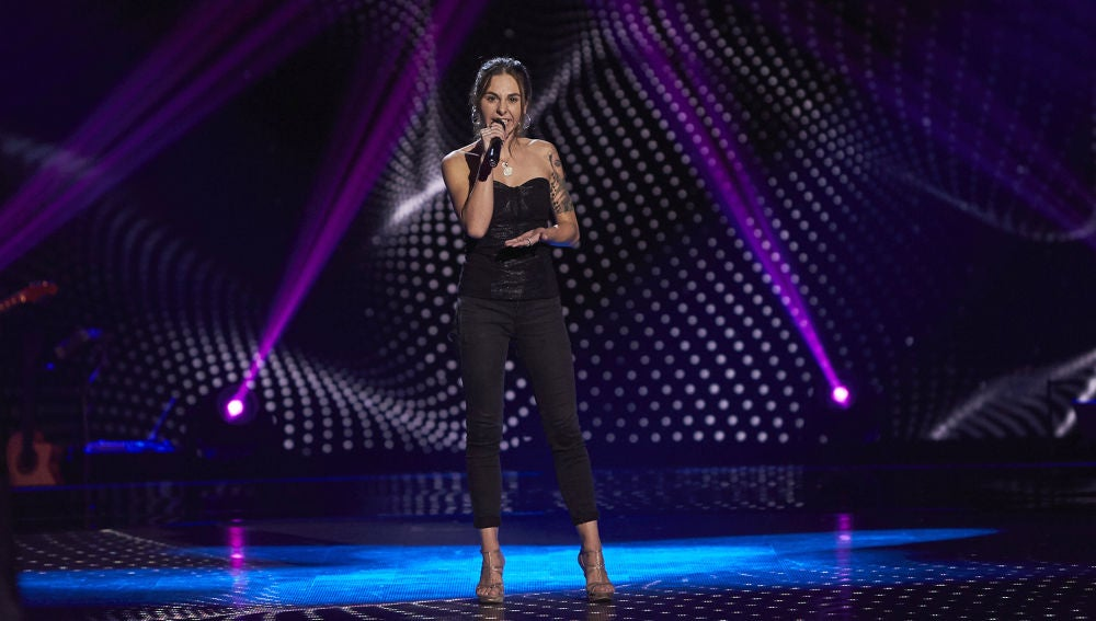 Chiara Rossi, potencia vocal interpretando 'Purple rain' en las Audiciones a ciegas de 'La Voz'