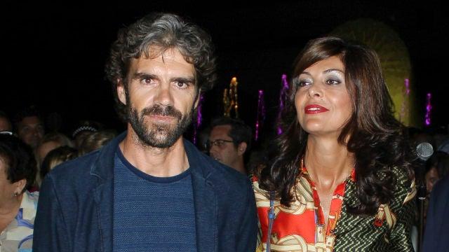 José Tomás junto a su pareja Isabel