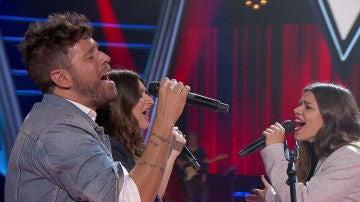 Pablo López, Laura Pausini y 22 Dúo, un momento único interpretando 'More tan words' en 'La Voz'