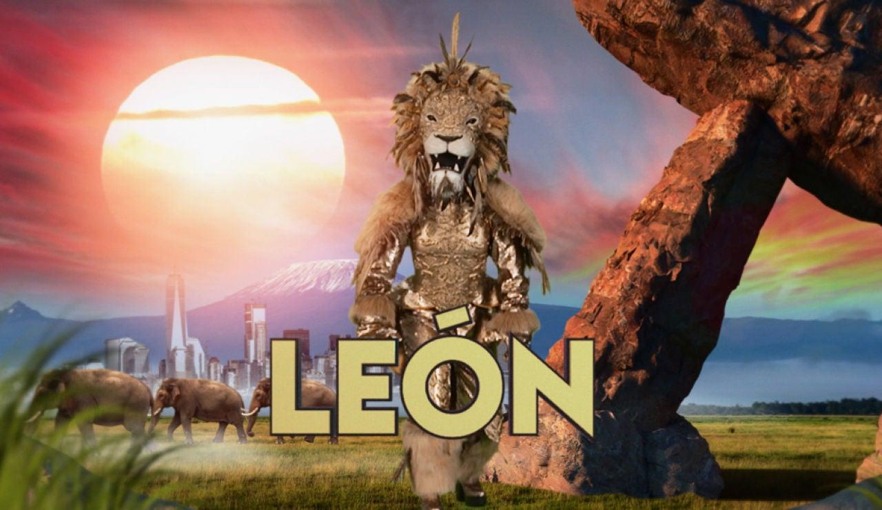 ¿Qué personaje famoso se esconde detrás de la máscara del León?