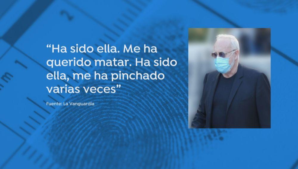 "Josep Maria Mainat: ""Ella me ha querido matar"""