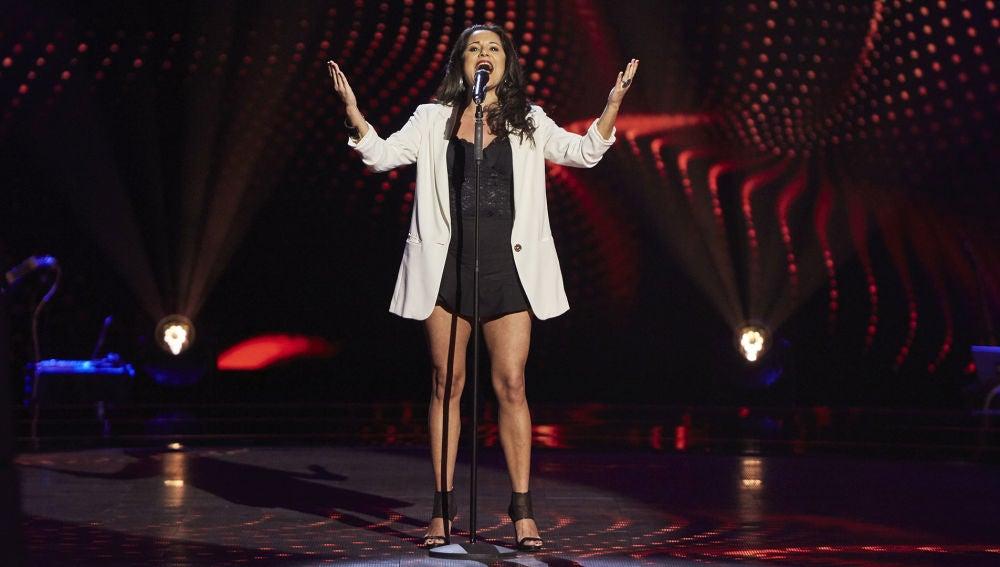 Sevine Abi Add cautiva a los coaches con 'L'hymne a l'amour' en las Audiciones a ciegas de 'La Voz'