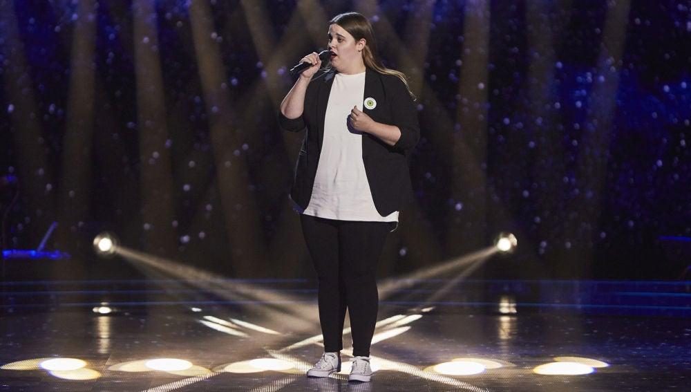 Uxoa Eusebio emociona con 'Memory' en las Audiciones a ciegas de 'La Voz'