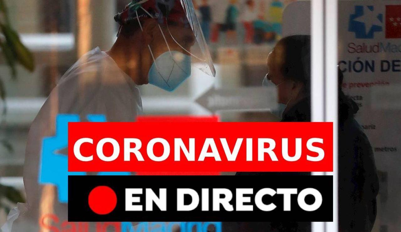 Coronavirus en España: Datos hoy, rebrotes y últimas noticias, en directo