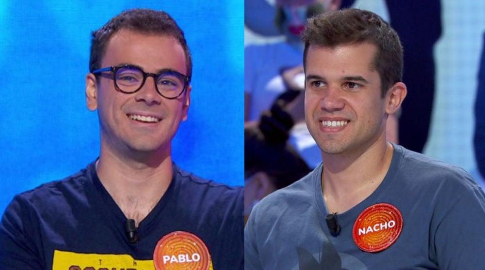 Pablo y Nacho en 'Pasapalabra'