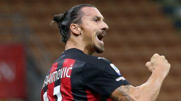 Ibrahimovic, de celebración