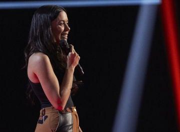 Pilar Bogado, talent de 'La Voz'