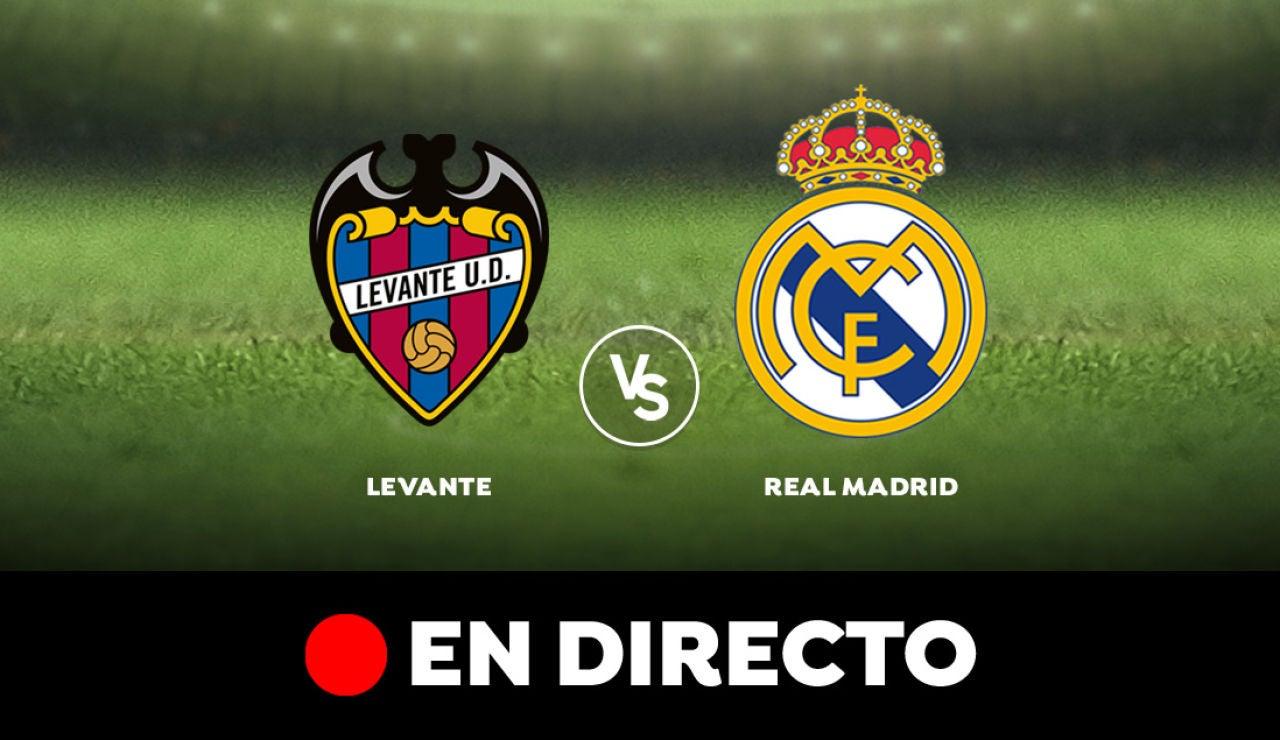 Levante - Real Madrid: Partido de hoy de Liga Santander, en directo