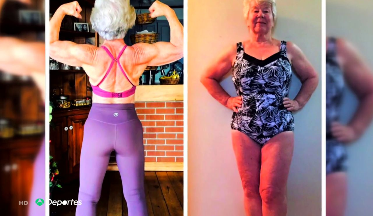 Joan MacDonald, la influencer de 73 años que pasó de ser una 'abuela gordita' a una gurú del fitness